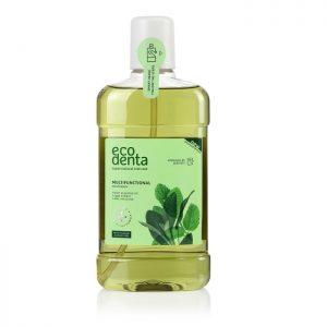 ECODENTA GREEN - Στοματικό διάλυμα με Μέντα, Φασκόμηλο & Αλόη