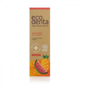 ECODENTA ORGANIC - Βιολογική οδοντόκρεμα για παιδιά, Διάφορα Φρούτα