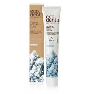 ECODENTA ORGANIC - Βιολογική οδοντόκρεμα για ευαίσθητα δόντια και ούλα με φυσικό Αλάτι