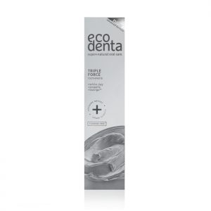 ECODENTA EXPERT - Oδοντόκρεμα τριπλής δράσης με λευκό Άργιλο, Πρόπολη & Teavigo