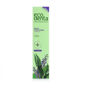 ECODENTA GREEN - Οδοντόκρεμα Ολοκληρωμένης Φροντίδας με Εκχυλίσματα 7 Βοτάνων & Kalident