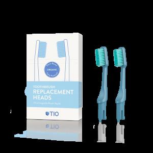 TIO care - Ανταλλακτικά Οδοντόβουρτσας Μπλε Medium (Glacier Medium)