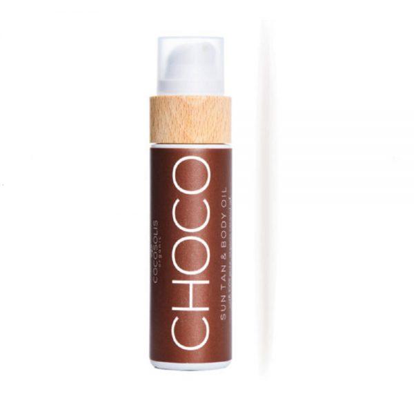 COCOSOLIS ORGANIC - CHOCO Sun Tan Body Oil