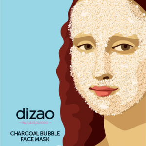 DIZAO NATURAL - Masterpieces Bubble Mask με Ενεργό Άνθρακα