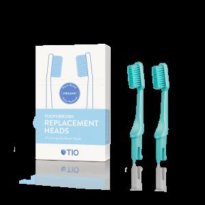 TIO care - Ανταλλακτικά Οδοντόβουρτσας Πράσινη Medium (Green Medium)
