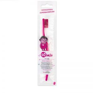 biobrush - Οικολογική παιδική οδοντόβουρτσα Φουξ Απαλή (Fuchsia Soft)