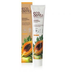 ECODENTA ORGANIC - Βιολογική οδοντόκρεμα λεύκανσης με Papaya